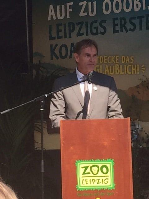 Oberbürgermeister Burkhard Jung