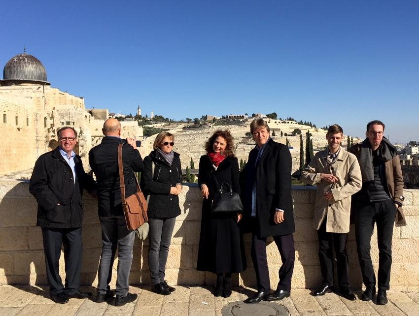 Büro Hitschfeld begleitet Israel-Tour der Thomaner und des Gewandhauses   Foto: Uwe Hitschfeld