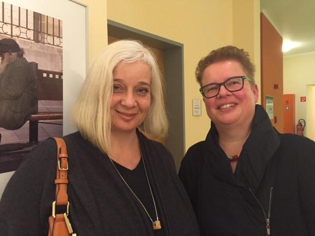 Eröffnung der Fotoausstellung der Vorsitzenden der Stiftung Hospiz Villa Auguste Ulrike Niess am 1. Februar 2016 | Foto: Ulrike Niess