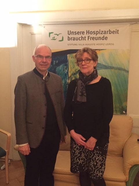 Eröffnung der Fotoausstellung der Vorsitzenden der Stiftung Hospiz Villa Auguste Ulrike Niess am 1. Februar 2016 | Foto: Katharina Hitschfeld