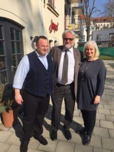 lunch club im März 2017 mit Dr. Flascha, Niederlassungsleiter der KPMG in Leipzig | Foto: Peter Raasch