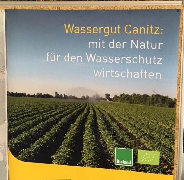 Wassergut Canitz Plakat