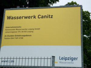 Wasserwerk Canitz Plakat