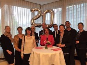 20jähriges Firmenjubiläum Büro Hitschfeld 2017 | Foto: Michael von Raison