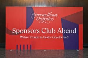 Sponsors Club Abend des Gewandhauses zu Leipzig | Foto: Gert Mothes
