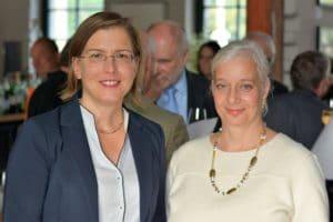 lunch speaker Bürgermeisterin Dr. Skadi Jennicke und Katharina Hitschfeld I Foto: Peter Raasch