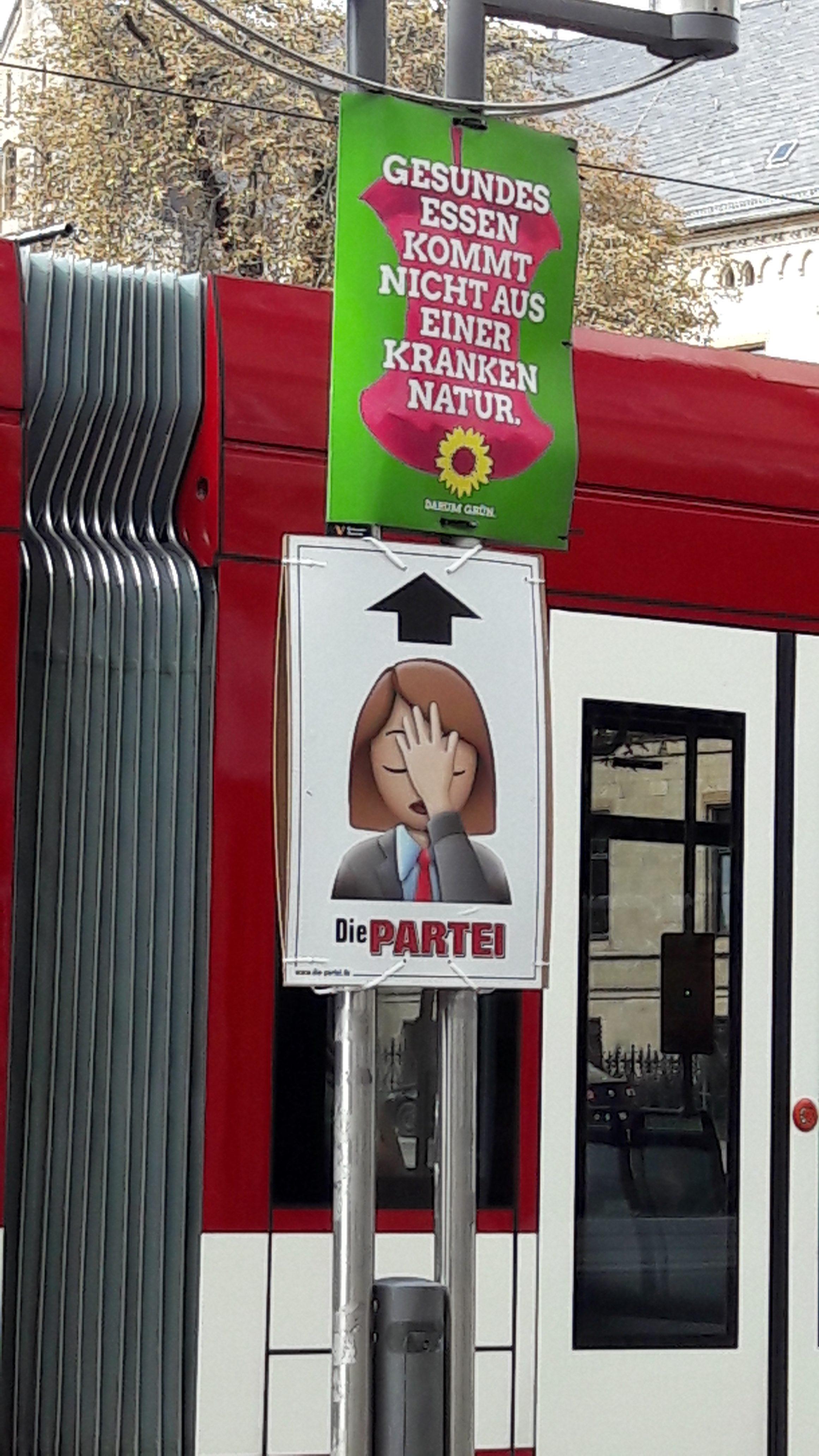 Wahlplakat Die Partei