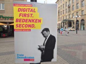 wahlplakat-fdp-digitalisierung-first