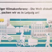 Leipziger Klimakonferenz am 6. November 2017 | Büro Hitschfeld