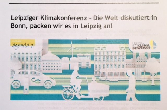 Leipziger Klimakonferenz am 6. November 2017   Büro Hitschfeld
