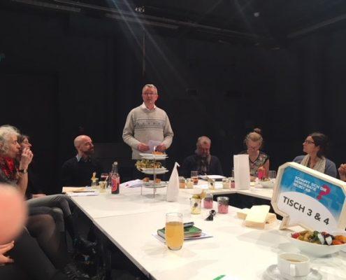 Per Tischgespräch zur Bürgerbeteiligung | Büro Hitschfeld