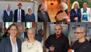 Jubiläum: 15 Jahre lunch club, organisiert vom Büro Hitschfeld für strategische Beratung