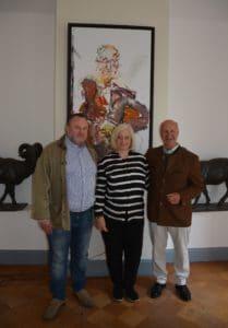 125. lunch club im Sternburgschen Schloss und Park | Fotos: Peter Raasch und Katharina Hitschfeld