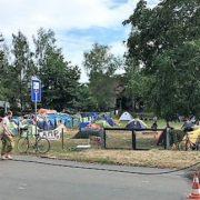 Klimacamp in Pödelwitz