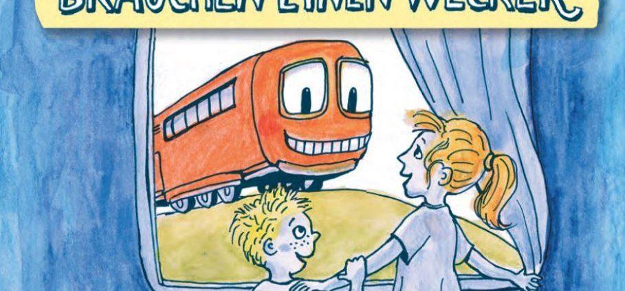 Hitschfeld und BMVI entwickelten ein Kinderbuch zum Thema Lärmschutz im Schienenverkehr.