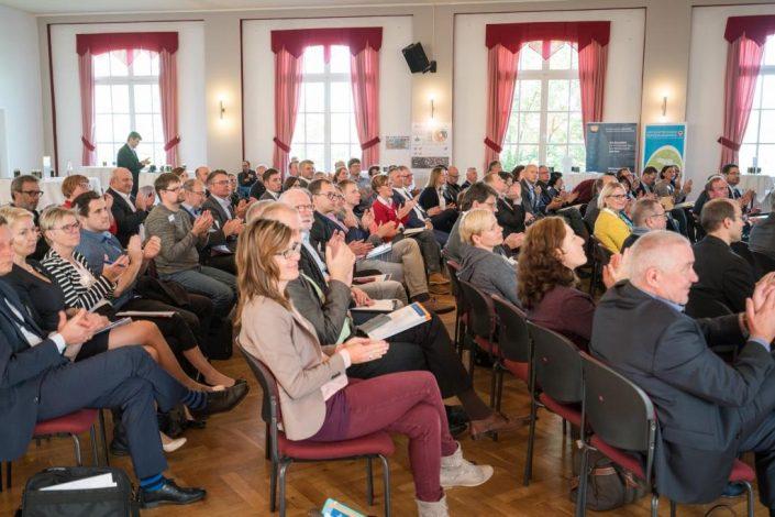 """Hitschfeld verabredet in Altenburg: Innovationskonzept """"open Osterland"""" in Altenburg vorgestellt/Foto: ABGedreht productions/HTWK Leipzig"""