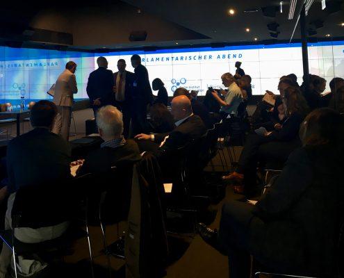 Büro Hitschfeld auf Parlamentarischem Abend in Berlin: Partizipation ist der Schlüssel