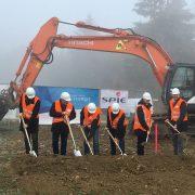 Netzausbau: Erster Spatenstich beim Amprion Projekt Reutlingen-Herbertingen mit Büro Hitschfeld