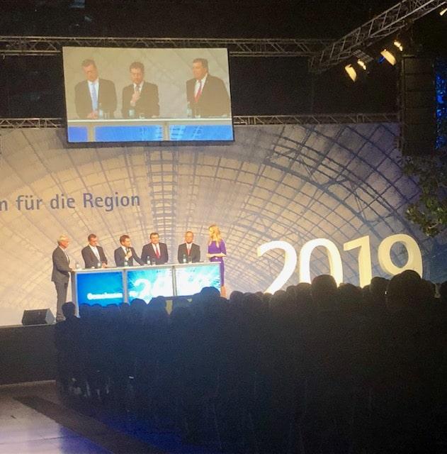 Kommentar zum Neujahrsempfang der Leipziger Wirtschaft 2019 | Büro Hitschfeld