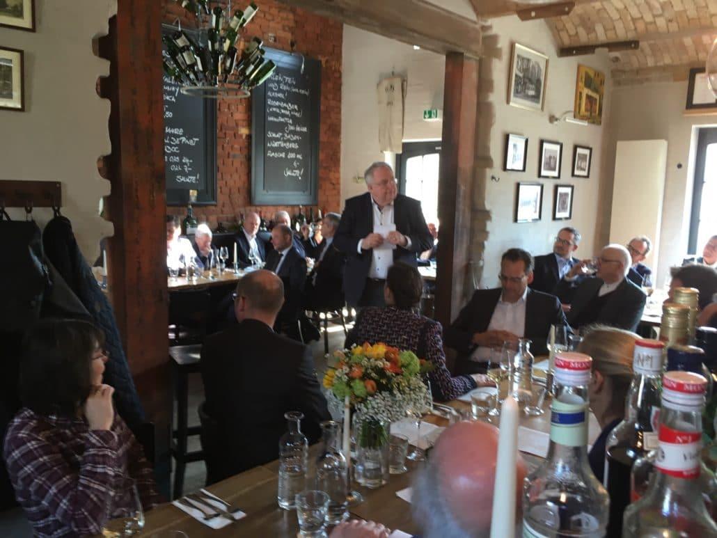 Leipziger Lunch Club feiert 15-jähriges Bestehen   Büro Hitschfeld