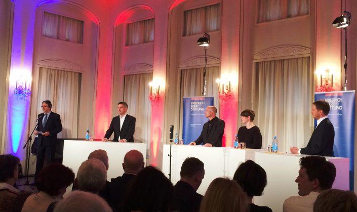 Analoges Debatten-Duell: Dulig vs. Kretschmer in Leipzig