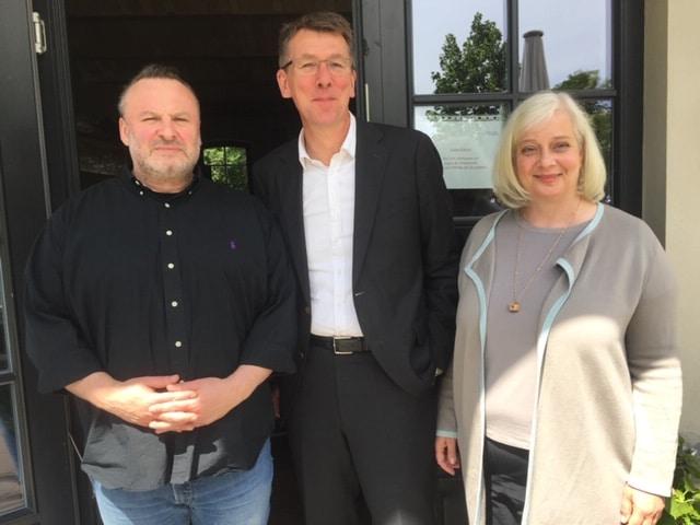 Ulf Middelberg zu Gast im Mai-lunch club.