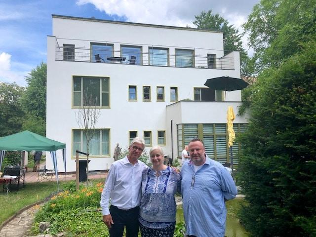 Büro Hitschfeld_Lunch club mit Dr. Rodekamp
