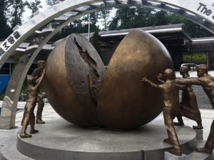 Wiedervereinigungsseminar in Seoul: Todesstreifen und Disneyland in der DMZ