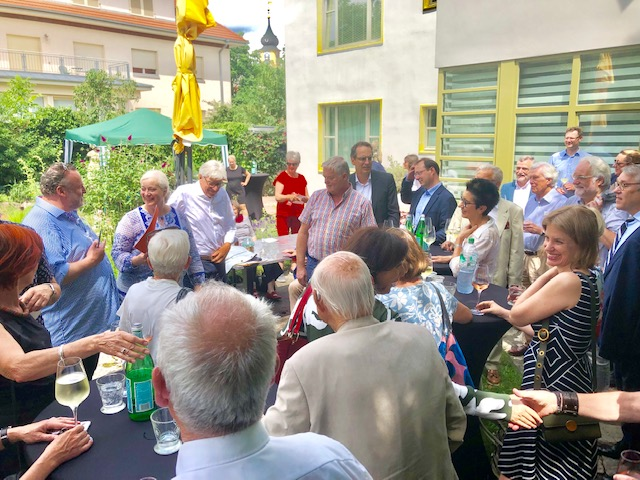 lunch club mit Dr. Volker Rodekamp ganz im Zeichen des Gründungsjubiläums 100 Jahre Bauhaus.