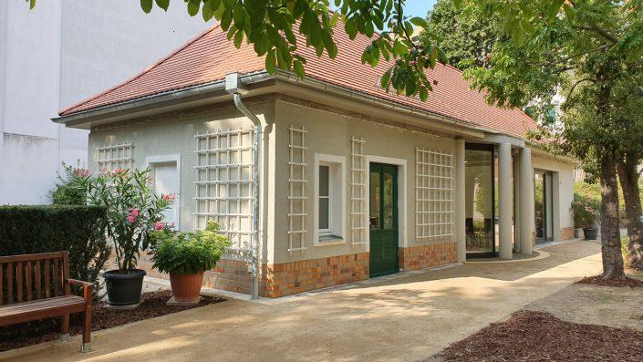 """Hospiz Villa Auguste – ein Gartenhaus bewegt, Foto: Ulrike """"Uli"""" Nieß"""
