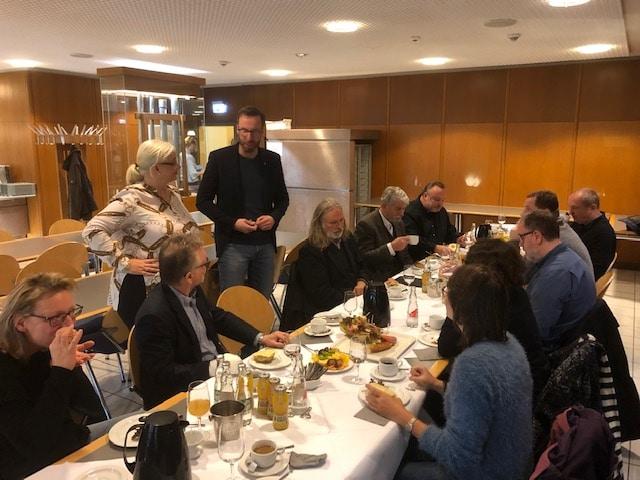 Zu Gast bei unserem Sponsor-Partner Gewandhaus Leipzig.