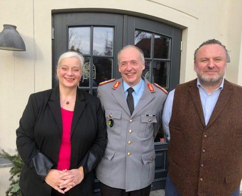 lunch club im Dezember mit Generalmajor Norbert Wagner