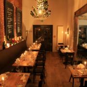 Gastraum des Restaurants münsters in Leipzig